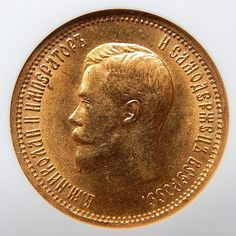 1899 AG RUSSIA 10 ROUBLE COLLECTIBLE GOLD COIN GRADED BY NGC MS 63 #gold-coins