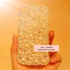 Free Phone Case & New Covered By Diamonds and Pearls DIY Phone Case Deco Den Kit