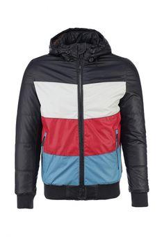 Куртка утепленная People мужская. Цвет: черный. Сезон: Весна-лето 2014. С бесплатной доставкой и примеркой на Lamoda. http://j.mp/UUGypq