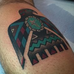 My newest addition; thunderbird by Bailey H Robinson guest spotting at Taos Tattoo, NM Tribal Bird Tattoos, Bird Tattoo Men, Native Tattoos, Indian Tattoos, Pretty Tattoos, Beautiful Tattoos, Cool Tattoos, Awesome Tattoos, Phoenix Bird Images