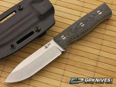 SURVIVE! Knives GSO 4.1 Black Micarta CPM-3V