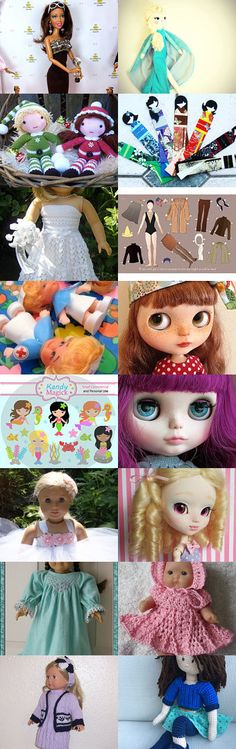 Where is my Dolly?  by TheDaintyBoutique on Etsy--Pinned with TreasuryPin.com - Thank you for adding my doll Violet to your Treasury!