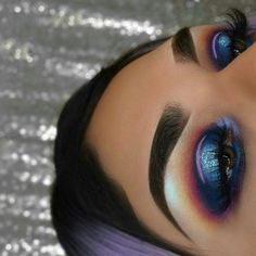 This looks like a great makeup look from a Juvias Place palette #makeuplooksprom
