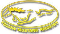 Yellow Mustang Registry www.and come join us. Yellow Mustang, Ford Mustang Gt, Superhero Logos, Dream Cars, Mustangs, Cross Stitch, Random Stuff, Yellow Things, Bang Bang