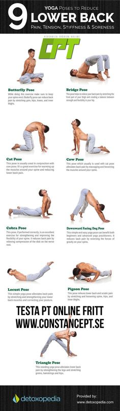Easy Yoga Workout - If You're In Pain, START HERE. 10 Exercises for Back and Hip Pain You Should Back Spasms. An Easy Stretch To Relieve Glut Get your sexiest body ever without,crunches,cardio,or ever setting foot in a gym Fitness Workouts, Yoga Fitness, At Home Workouts, Fitness Tips, Fitness Motivation, Health Fitness, Fat Workout, Fitness Goals, Fitness Watch