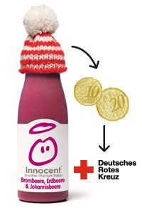 Knit little hats for Innocent Smoothies and help raise money so that old people have a warm winter...