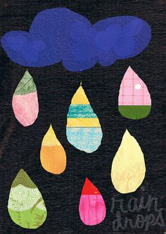 Rain Drops by Monette Enriquez