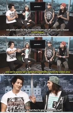 Pierce The Veil | funny moments :)