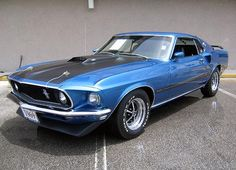 1969 Ford Mustang Mach 1 picture