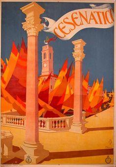 Cesenatico Travel Pinspiration: Vintage Posters from Emilia-Romagna