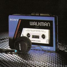 Vintage Sony Walkman Cassette Player, was the first Walkman model that was sold in the… Sony, 80s Design, My Memory, The One, Gadgets, Product Launch, Retro, Instagram Posts, July 1