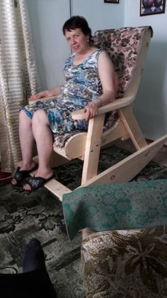 Кресло для отдыха. — Сообщество «Сделай Сам» на DRIVE2 Diy Pallet Projects, Projects To Try, Diy Furniture Chair, Camping Chair, Patio Chairs, Porch Swing, Desk, Benches, Table