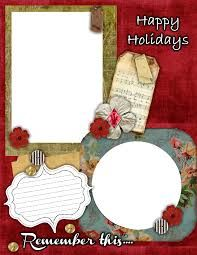 free printable scrapbook layouts black red and white beauty