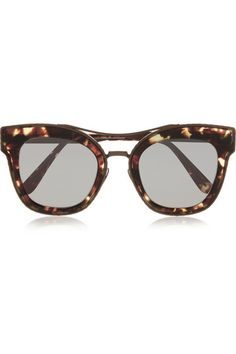 Bottega Veneta | Cat-eye acetate and metal sunglasses | NET-A-PORTER.COM
