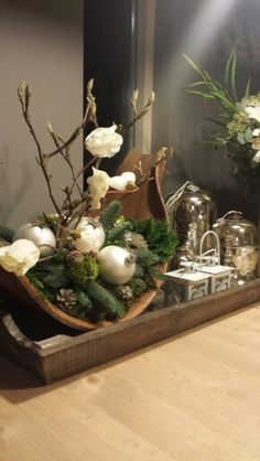 # The post appeared first on WMN Diy. Christmas Arrangements, Christmas Centerpieces, Xmas Decorations, Floral Arrangements, Christmas Is Coming, Christmas Holidays, Christmas Crafts, Diy Food Gifts, Rustic Crafts