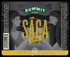 mybeerbuzz.com - Bringing Good Beers & Good People Together...: Summit - Saga IPA Updated Packaging
