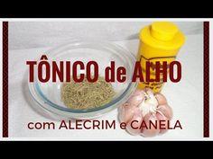 TÔNICO DE ALHO COM ALECRIM E CANELA PARA CRESCIMENTO E QUEDA/por DEBBY SERRA - YouTube