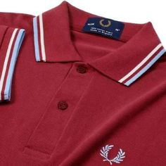 camisa polo fred perry - made in england
