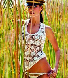 Irina Shayk hoang dã giữa thiên nhiên