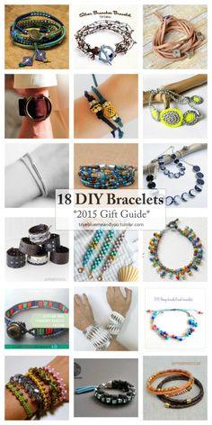 18 Favorite DIY Bracelet Tutorials