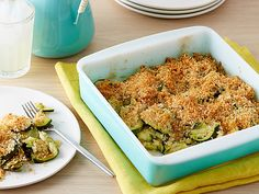 Baked Zucchini Recipe : Sunny Anderson : Food Network