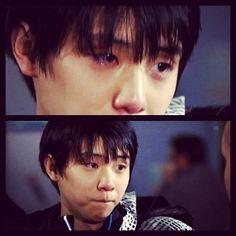 Yuzuru HANYU 羽生結弦  awww!!!  I wanna give him a hug!