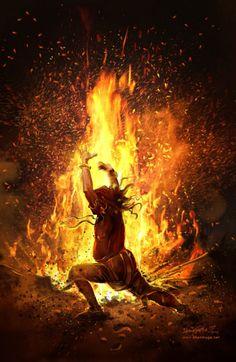 Mahabharatham - The Great Indian Epic. Shiva Tandav, Rudra Shiva, Shiva Art, Krishna Art, Mythology Paintings, Lord Shiva Family, Lord Shiva Painting, India Art, Blur Photo Background