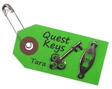 SWAP - maybe could use keys from restore or extras around the house instead Girl Scout Swap, Girl Scout Troop, Brownie Quest Journey, Brownies Girl Guides, Girl Scout Activities, Brownie Ideas, Girl Scout Camping, Brownie Girl Scouts, Girl Scout Crafts