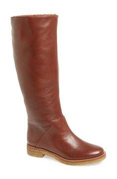 Diane von Furstenberg Ashton Shearling Lined Boot