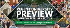 Regent University - Christian Education in Virginia & Online   Banner Design   Website Banner Design