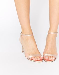 Image 1 of ASOS HEAD LIGHT Heeled Sandals