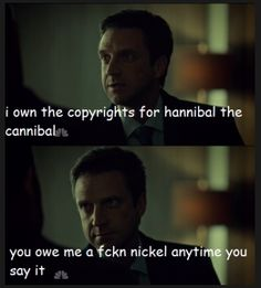 Pimpin aint easy. Hannibal edit. Source: licensetocannibalize.tumblr
