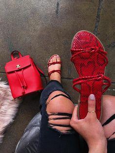 Cute Flats, Cute Sandals, Cute Shoes, Me Too Shoes, Shoes Sandals, Women Sandals, Fashion Slippers, Fashion Shoes, Bling Shoes