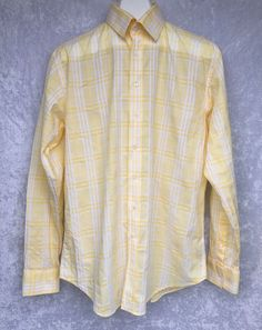 NEW Orvis Button Up Shirt Adult Large Red White Plaid Fly Fishing Fisherman Mens