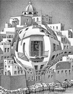 M.C. Escher art