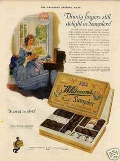 Whitman's Chocolate Candy (1925)