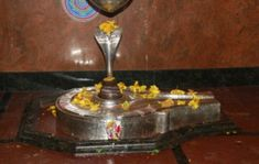 Shivling in Veerbhadra Temple.