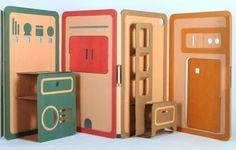 Foldable multicolored educational toys