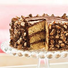 Our Best Layer Cakes: Heavenly Candy Bar Cake