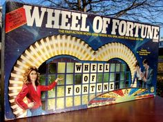 Wheel Of Fortune 1980s Board Game