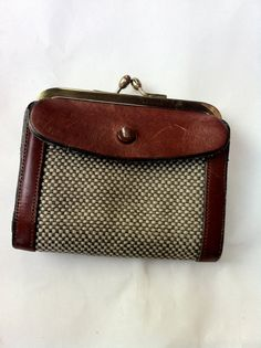 Vintage 1960s John Romain leather and woven by BGVintageMart, $44.11