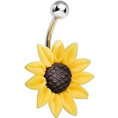 Stunning Sunflower Belly Ring, http://www.amazon.com/dp/B00G2HHEEA/ref=cm_sw_r_pi_awdm_UOBdvb0M5D8D1
