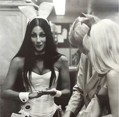 Cher at the Playboy Club, 1971