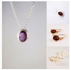 FREE SHIPPING, PLUS 15% OFF, Great For Gifts For You or a friend, Amethyst's Garnet's, Earrings, Necklaces, Gold, Silver, all come delivered in a FREE GIFT BAG. #free #freeshipping #sale #jewellerysale #gifts #amethyst #garnet #jewelrysale #alustrousjewellery