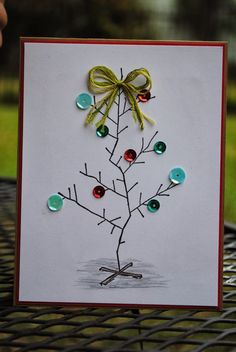 """Happy Chick Designs: """"Charlie Brown"""" Christmas Card"""