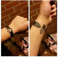 Skyrim waypoint wrist tattoo idea