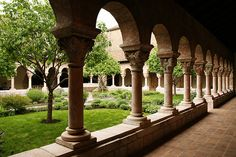 View of The Cloisters (branch of The Metropolitan Museum of Art in NYC), devoted to the art and architecture of medieval Europe :)  Really want to go!