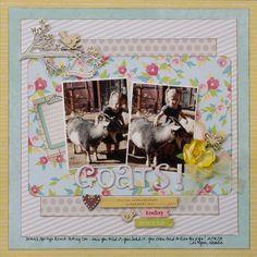 Goats! - My Creative Scrapbook - Scrapbook.com