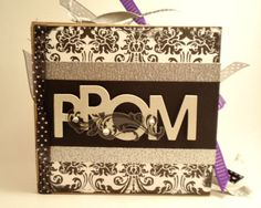 Prom Paper Bag Scrapbook Album by brightideasbylorrie on Etsy