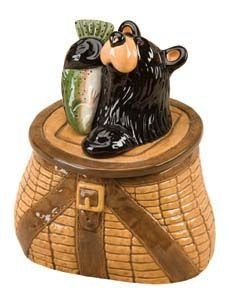cookie jar-Fishing basket